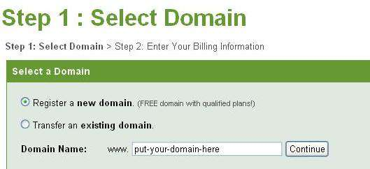 register ipage cheap hosting plan
