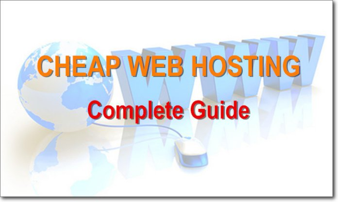 complete cheap web hosting guide
