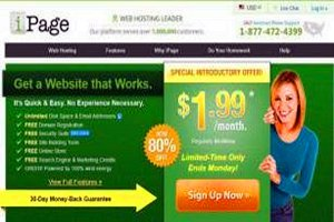 ipage web hosting coupon code